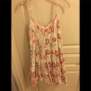 Free People Flowy Floral Dress, NWOT, Small